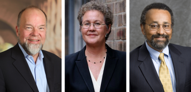 Event Speakers: David Plank, Linda Darling-Hammond, and Christopher Edley